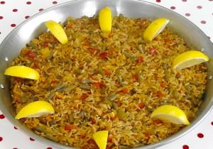 Macro Paella with Seaweed Nutrition