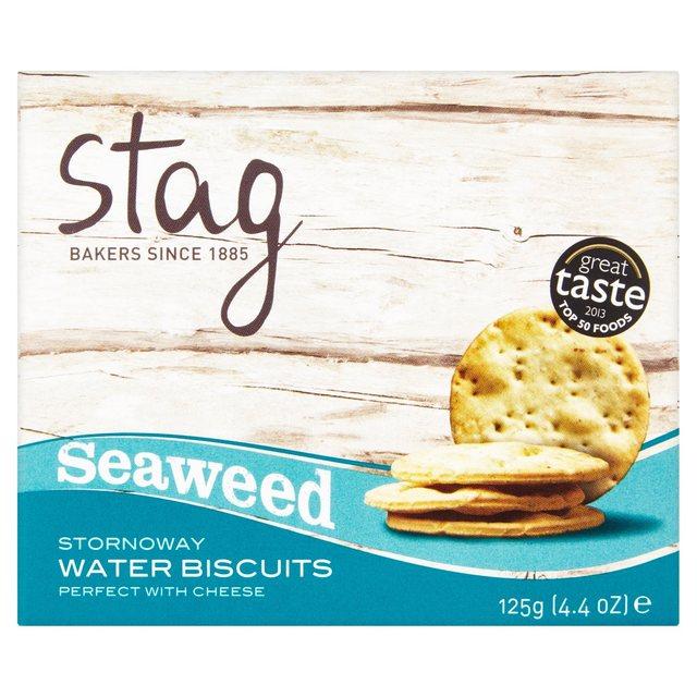 Stag Seaweed Water Biscuits