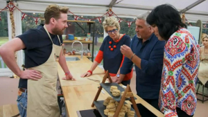 Seaweed on The Great British Bake Off