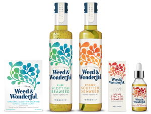 weed-&-wonderful-Seaweed-Products, infused oils, supplements, organic, kosher, vegan