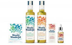 Weed & Wonderful products, organic, kosher, seaweed infused oil, seaweed supplements