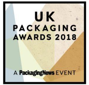 Best Brand 2018 award UK Packaging awards